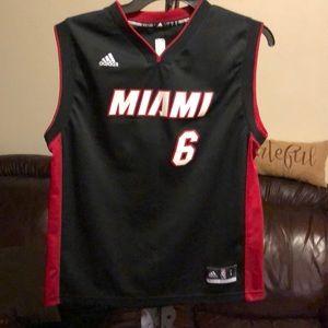 Addidas Miami Jersey/James